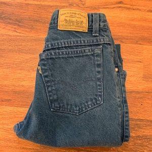 Vintage Levi's 900 Series Blue Jeans